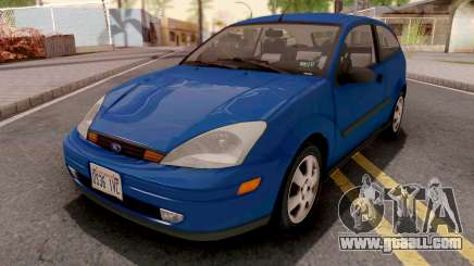 Ford Focus ZX3 2000 IVF for GTA San Andreas