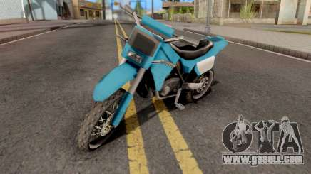 Sanchez to Mountain Bike for GTA San Andreas