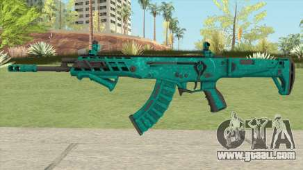 Warface AK-Alfa Absolute (With Grip) for GTA San Andreas