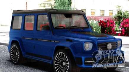 Mercedes-Benz G65 Mansory Gronos for GTA San Andreas