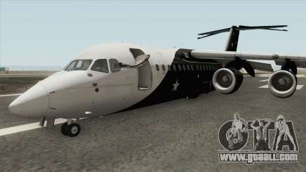 Avro RJ85 (Titan Airways Livery) for GTA San Andreas