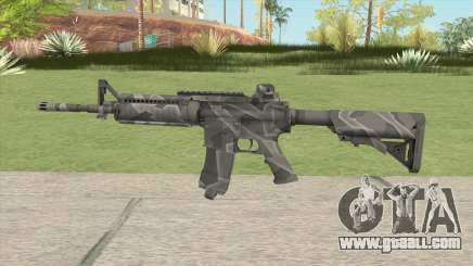Warface M4A1 (Winter) for GTA San Andreas