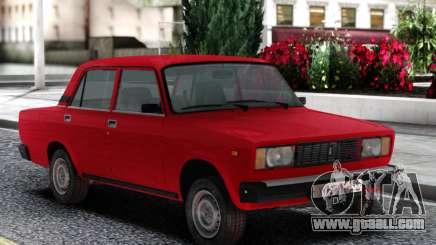 VAZ 2105 Sedan Red for GTA San Andreas