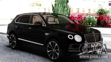 Bentley Black Bentayga for GTA San Andreas
