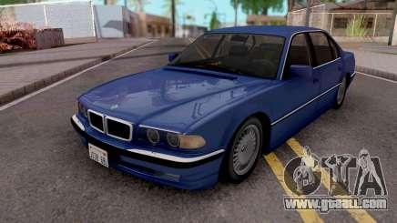 BMW 750i E38 1999 Tunable for GTA San Andreas