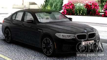 BMW M5 F90 Sedan Black for GTA San Andreas