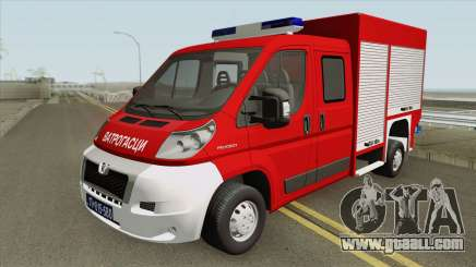 Peugeot Boxer Vatrogasci for GTA San Andreas