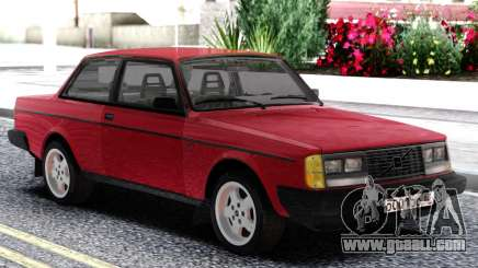 Volvo 242 Intercooler Turbo Red for GTA San Andreas