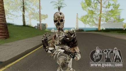 Skeleton Armor for GTA San Andreas