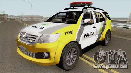 Toyota Hilux SW4 2014 ROTAM PR for GTA San Andreas