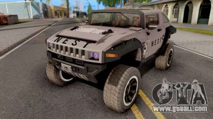 Transformers ROTF Nest Car for GTA San Andreas