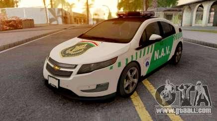 Chevrolet Volt N.A.V. for GTA San Andreas