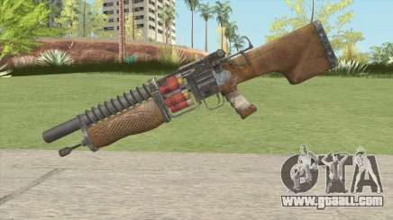 Escopeta De Metro 2033 for GTA San Andreas