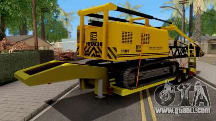 Lowbed Trailer for GTA San Andreas