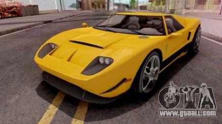 GTA V Vapid Bullet GT for GTA San Andreas