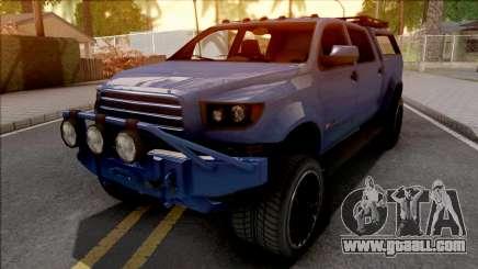 GTA V Vapid Contender Blue for GTA San Andreas