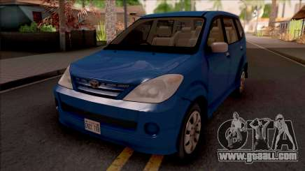 Toyota Avanza 2004 for GTA San Andreas