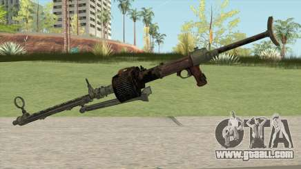 COD WW2 - MG-15 Anti-Aircraft MG (Extended) for GTA San Andreas