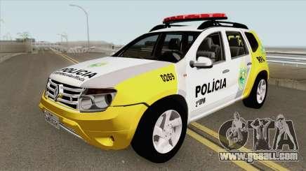 Renault Duster 2013 RPA PMPR for GTA San Andreas