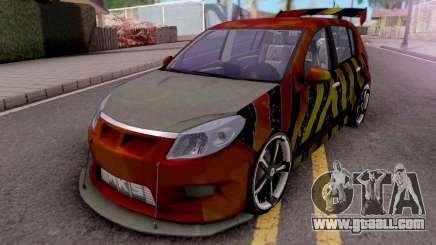 Dacia Sandero Modified for GTA San Andreas