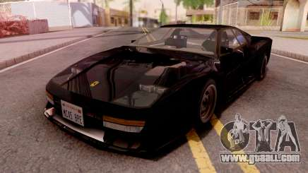 Ferrari Testarossa Custom Black for GTA San Andreas