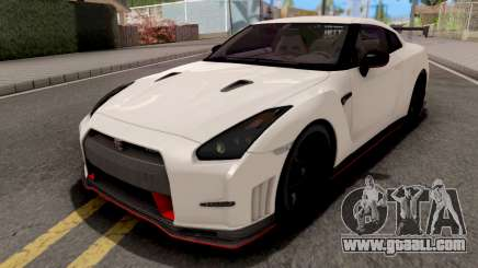 Nissan GT-R Nismo White for GTA San Andreas