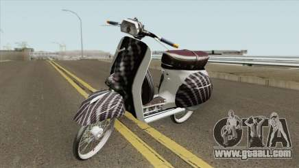 Vespa 180SS Rim Nouvo MX White Reborn for GTA San Andreas