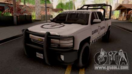 Chevrolet Cheyenne 2016 Guardia Nacional for GTA San Andreas
