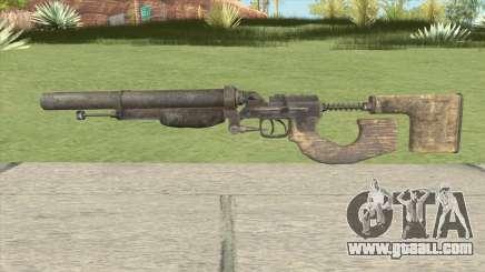 Escopeta Doble Metro 2033 for GTA San Andreas