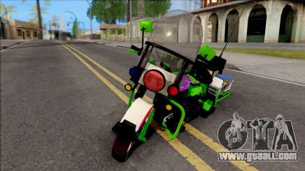 Soundwave Motorcycle for GTA San Andreas