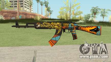Warface AK-103 (Anubis) for GTA San Andreas