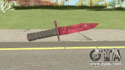 CS:GO M9 Bayonet (Doppler Ruby) for GTA San Andreas