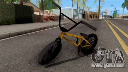 BMX Moderna for GTA San Andreas