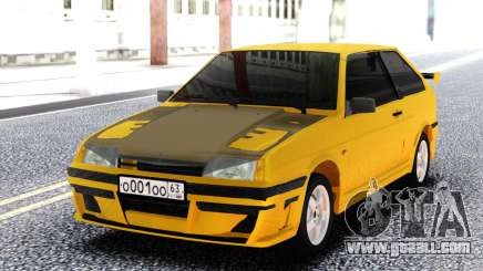 VAZ 2108 Yellow for GTA San Andreas