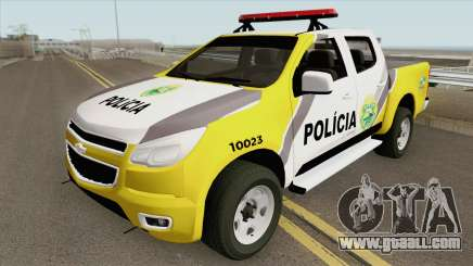 Chevrolet S10 (Policia Militar) for GTA San Andreas