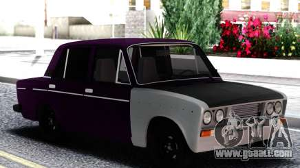 VAZ 2106 Eggplant with white for GTA San Andreas