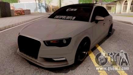 Audi A3 E Edition for GTA San Andreas