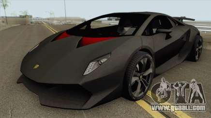 Lamborghini Sesto Elemento 2011 HQ for GTA San Andreas