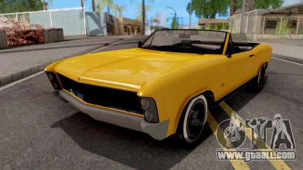 GTA V Albany Buccaneer for GTA San Andreas