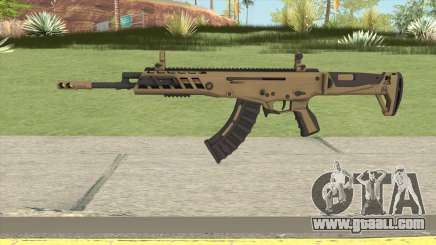 Warface AK-Alfa Gold (Without Grip) for GTA San Andreas