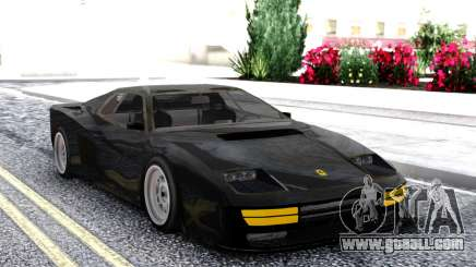 Ferrari Testarossa Black for GTA San Andreas