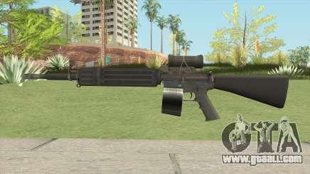 C7 Assault Rifle CMAG for GTA San Andreas