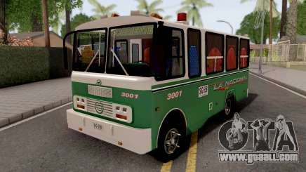 Buseta Clasica Colombiana for GTA San Andreas