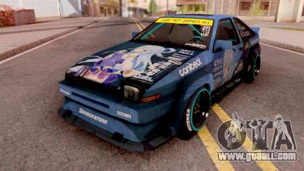 Toyota AE86 Aqua Itasha for GTA San Andreas