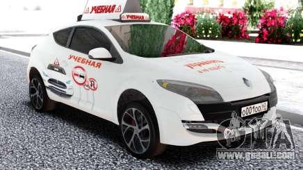 Renault Megane RS Driving school for GTA San Andreas