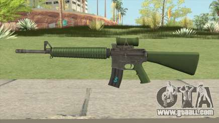 C7A2 Assault Rifle for GTA San Andreas