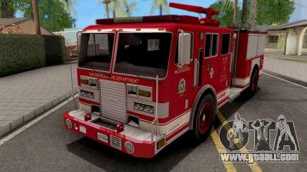 KME Renegade US Navy Firetruck 1993 for GTA San Andreas