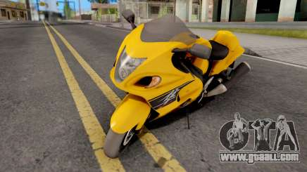 Suzuki Hayabusa for GTA San Andreas