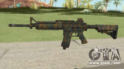 Warface M4A1 (Woodland) for GTA San Andreas