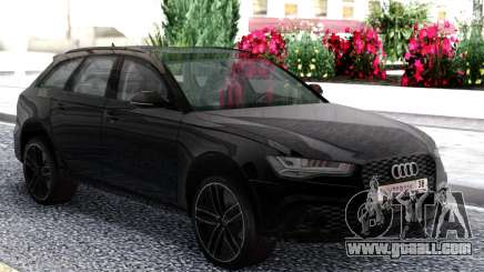 Audi RS6 Travel Black for GTA San Andreas
